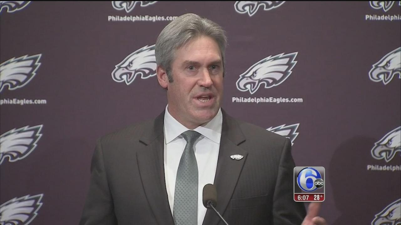 VIDEO: Eagles introduce Doug Pederson