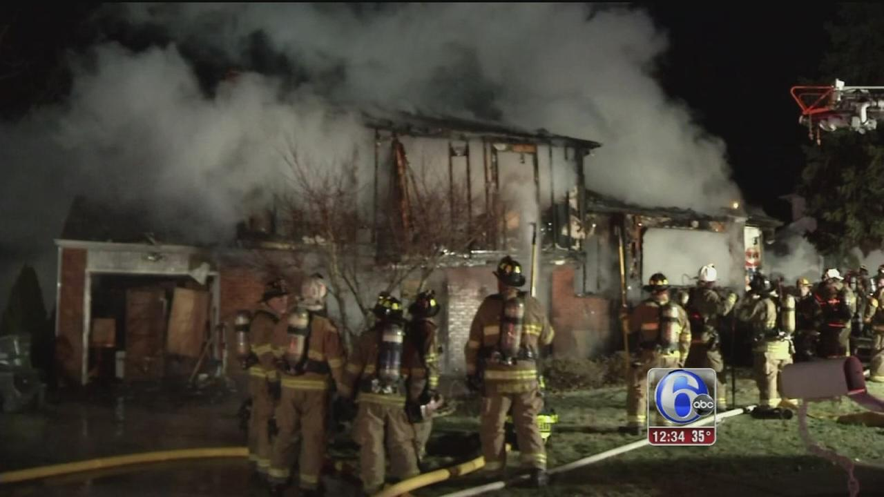 VIDEO: 1 killed in Delaware house fire