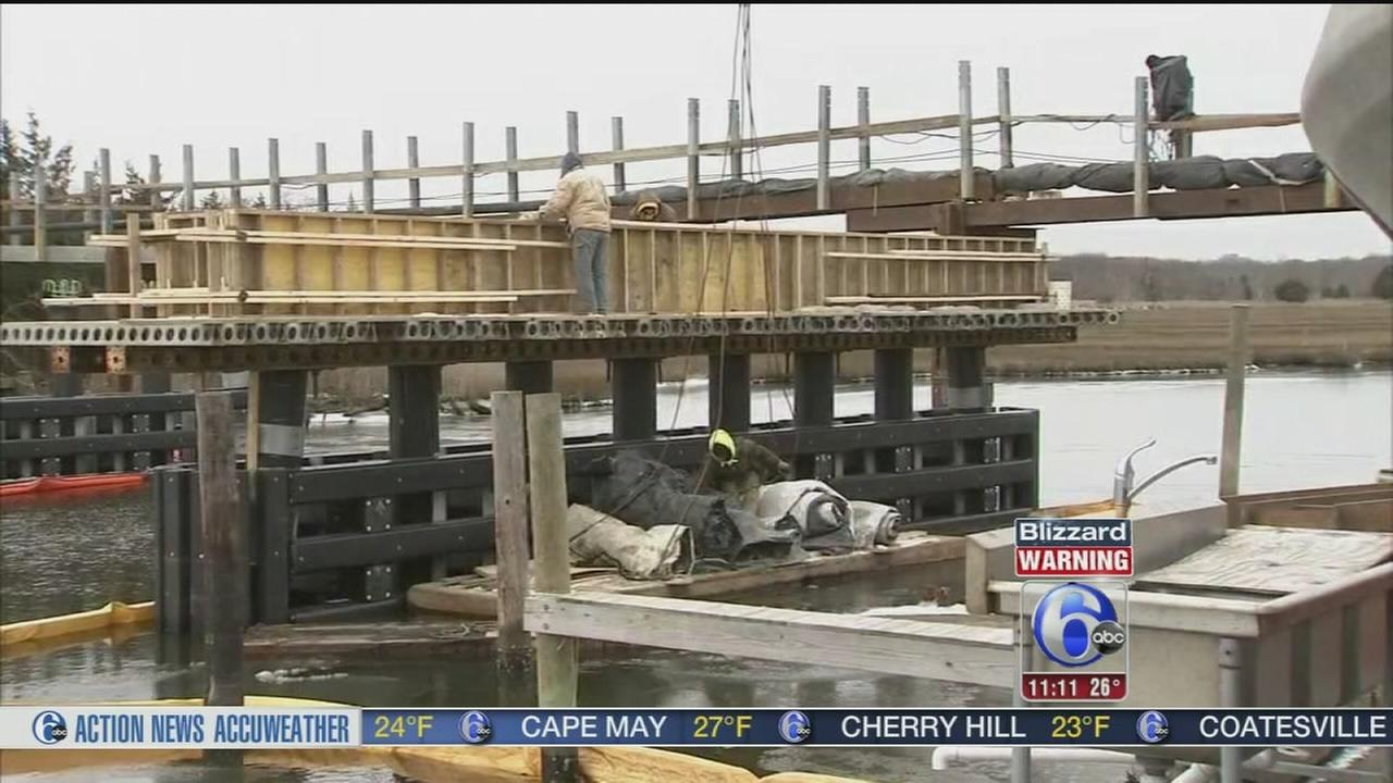 VIDEO: Flooding and high winds in NJ