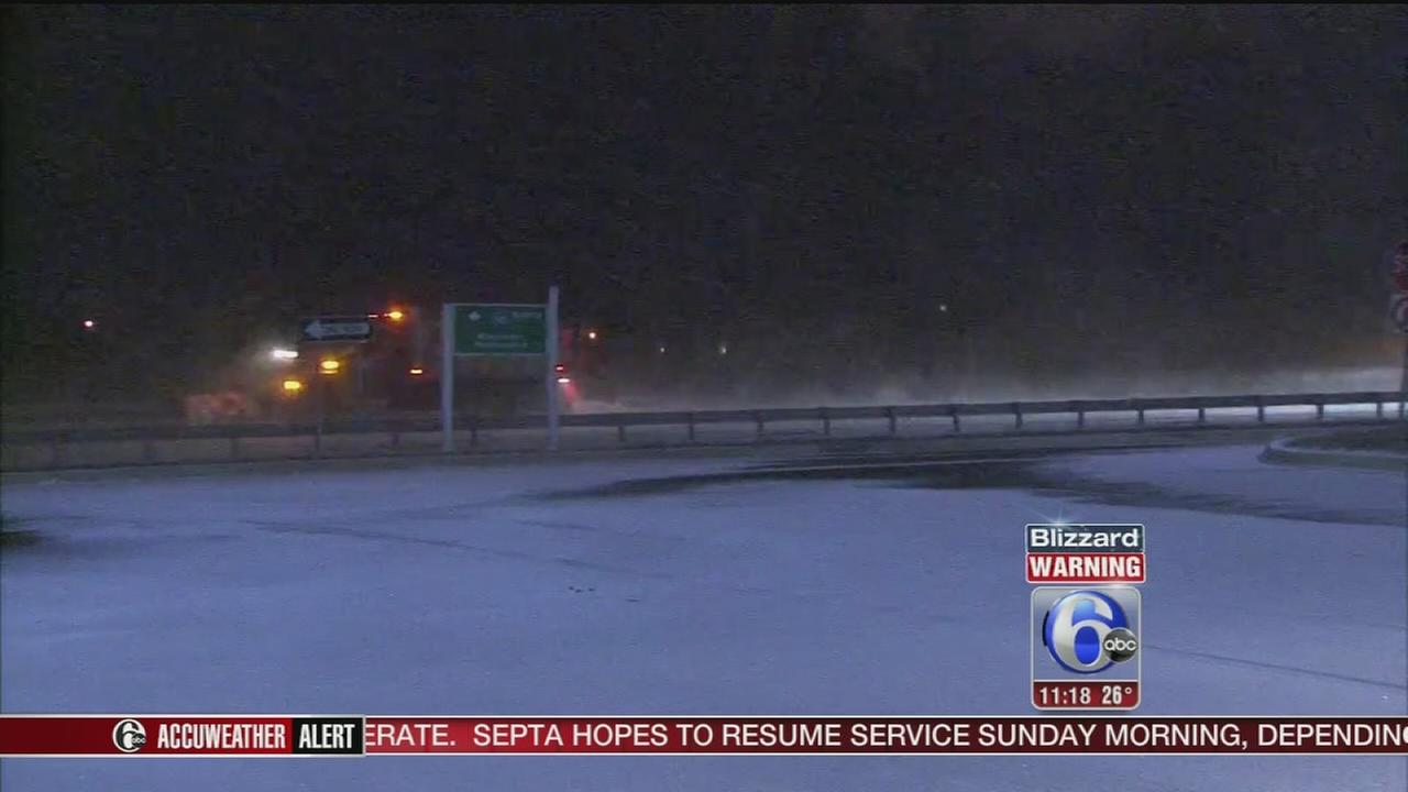 VIDEO: Delaware snow