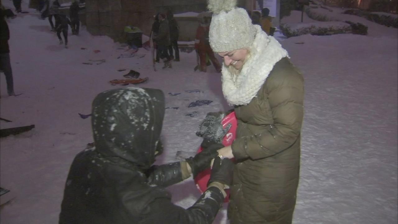 VIDEO: Snow proposal