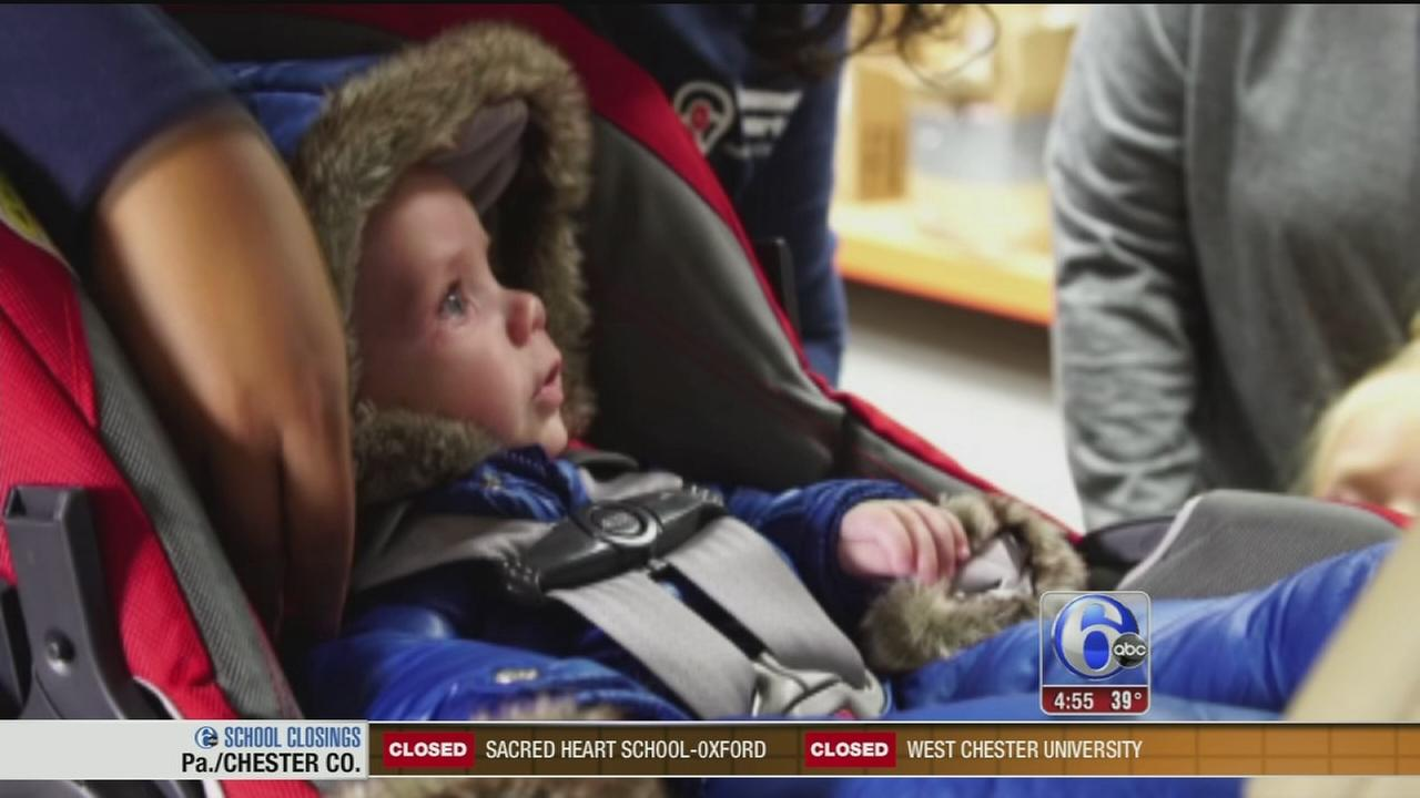 VIDEO: Winter car seat safety