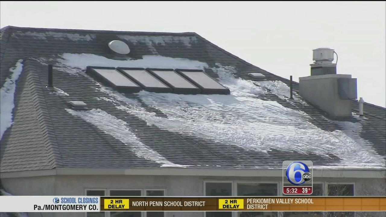 VIDEO: Roof safety after the storm