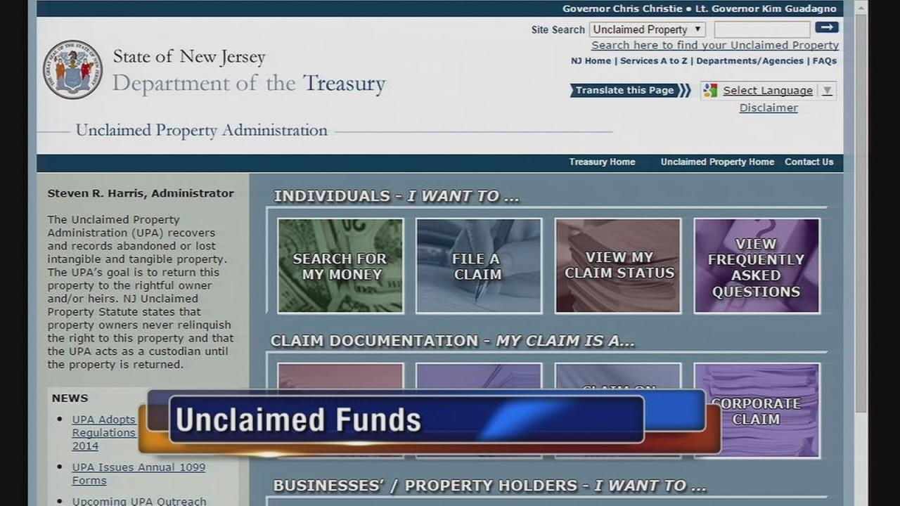 VIDEO: Unclaimed funds
