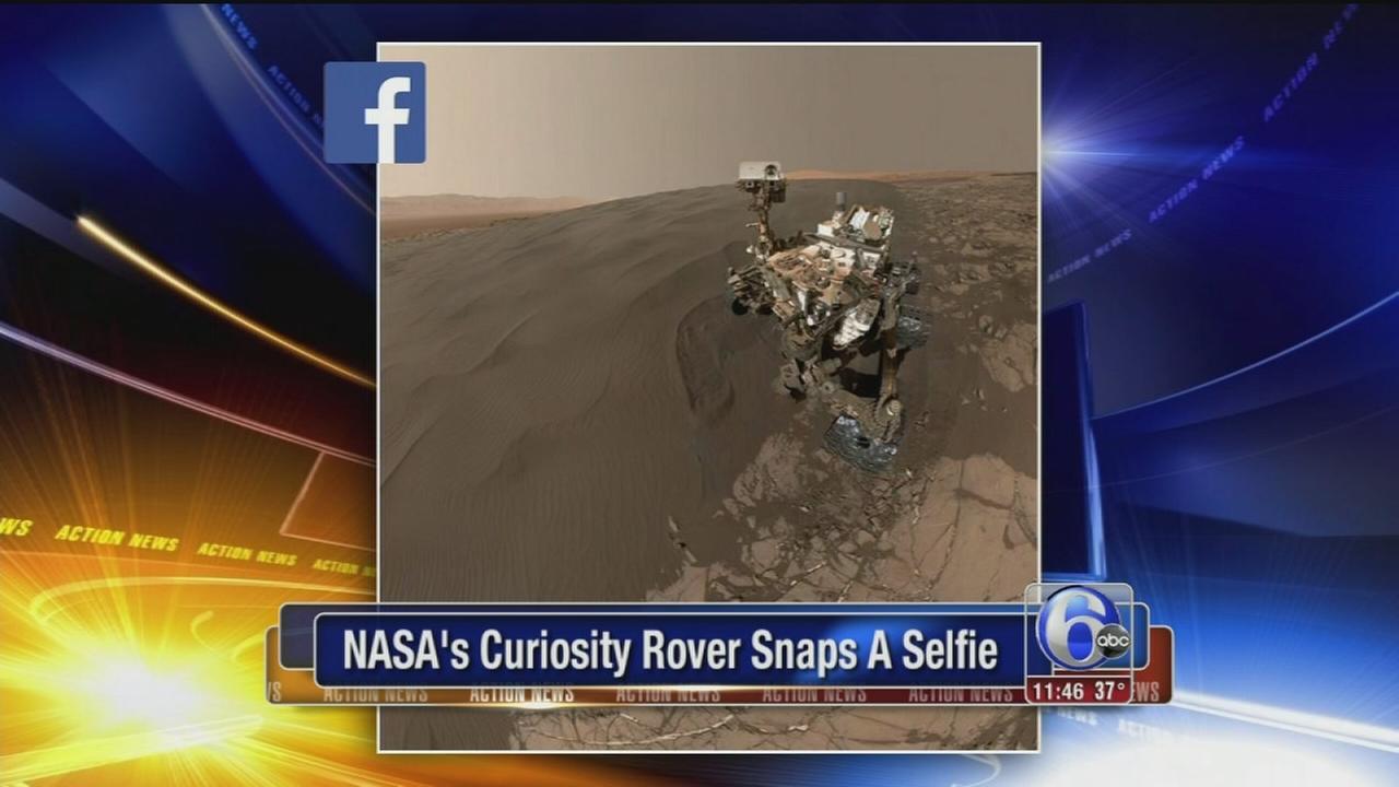 VIDEO: Rover selfie