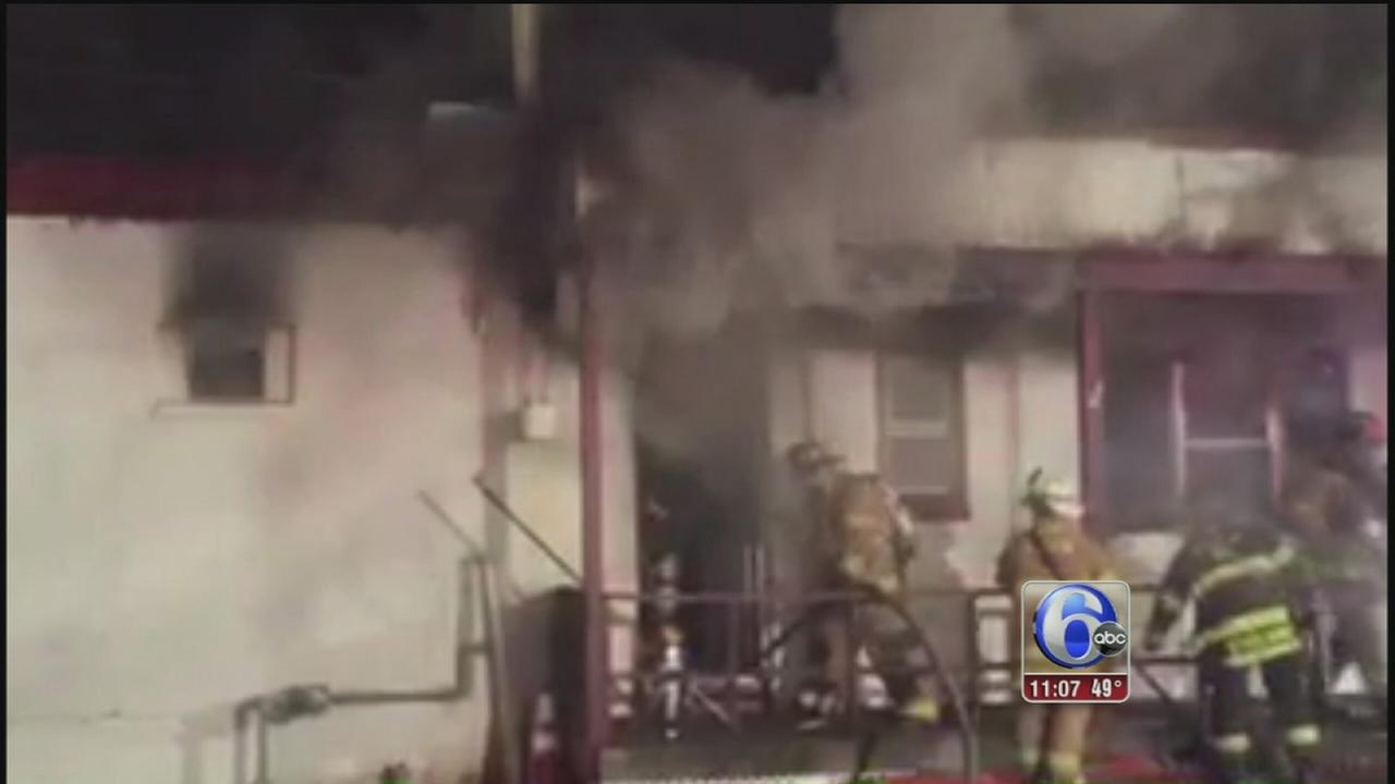 VIDEO: Deli fire