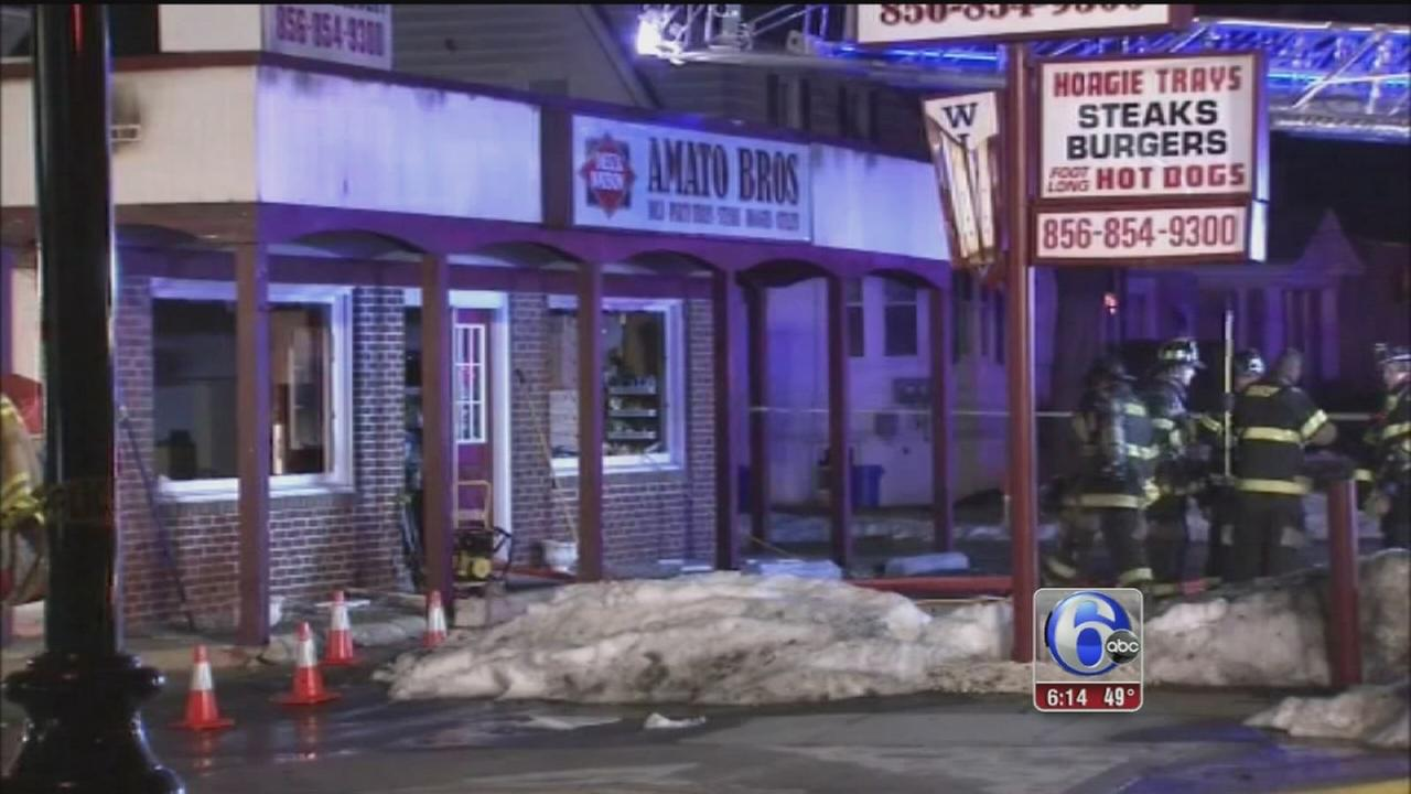 VIDEO: NJ deli focused on reopening after fire
