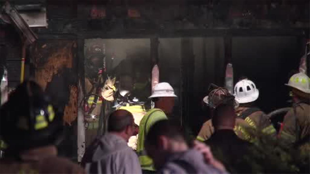 2 people hurt in Jersey Shore house blaze