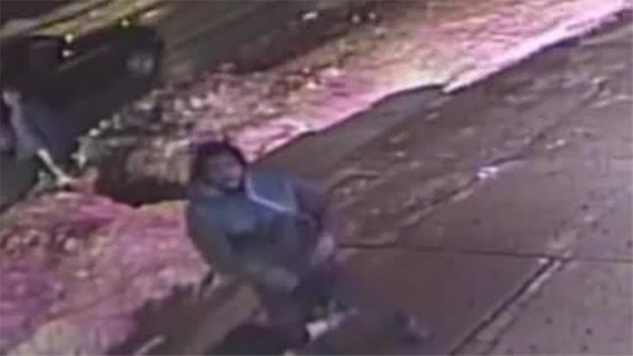 Suspect sought for choking and robbing man in North Philly