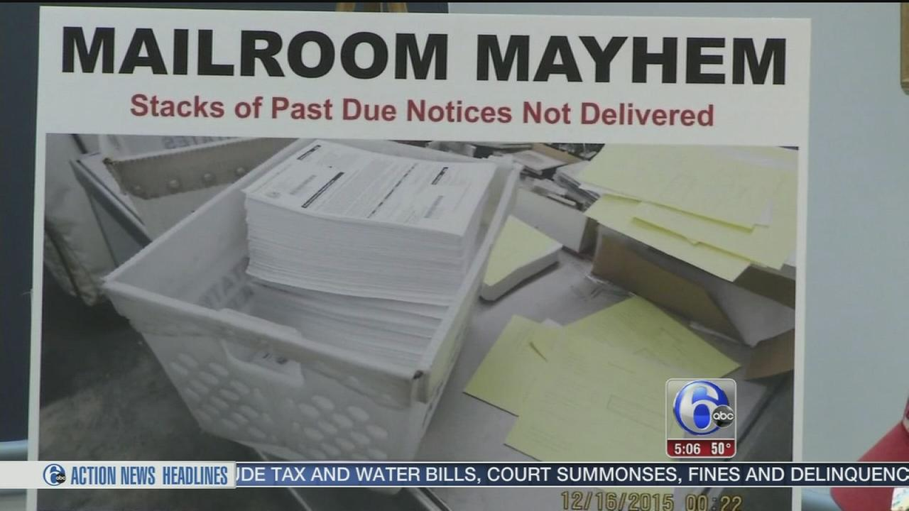 VIDEO: Controller: Mismanaged mail a big problem in Philadelphia