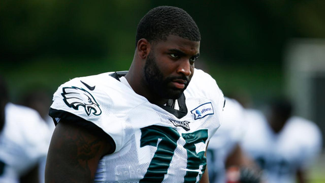 Philadelphia Eagles defensive end Vinny Curry during NFL football training camp Monday, Aug. 4, 2014, in Philadelphia.