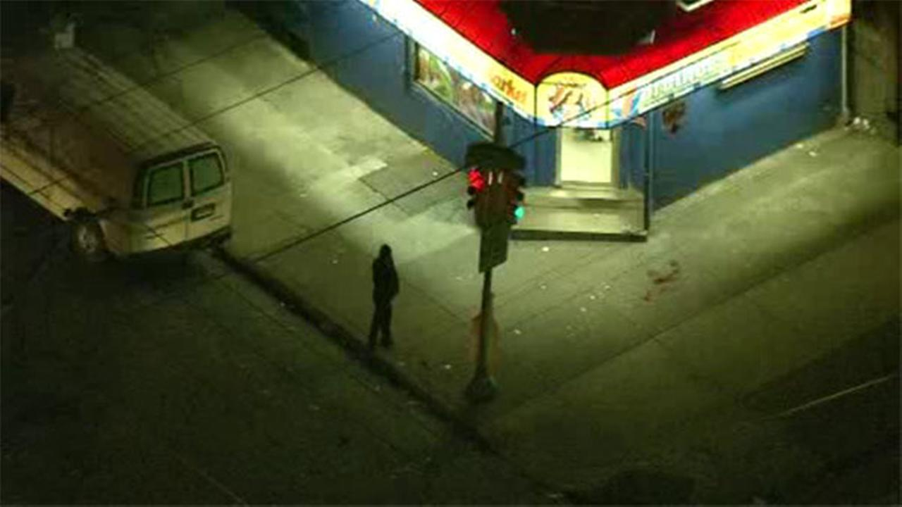 A man is hospitalized after a shooting in West Philadelphia.