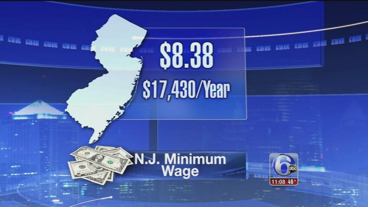 VIDEO: NJ min wage