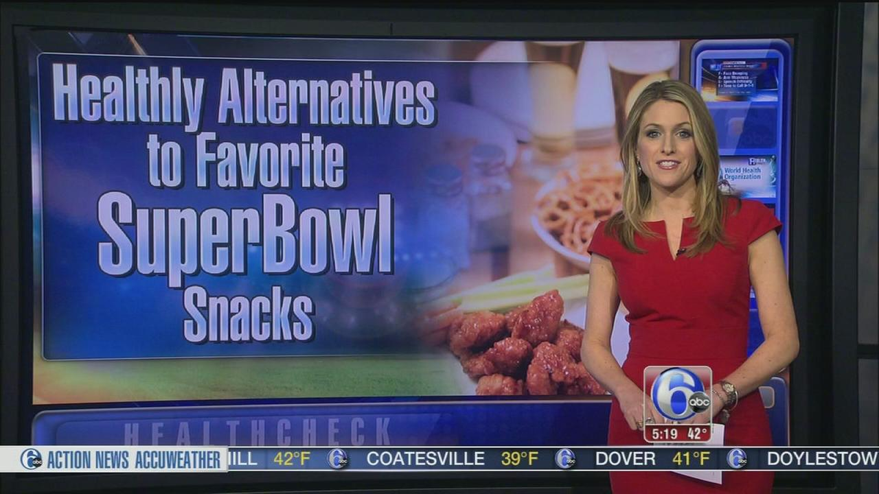 VIDEO: Healthy Super Bowl alternatives