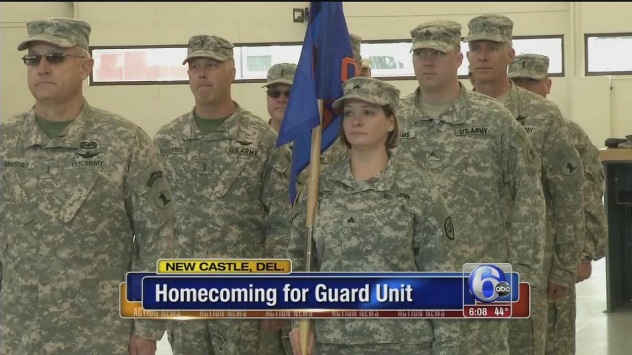VIDEO: Homecoming for guard unit