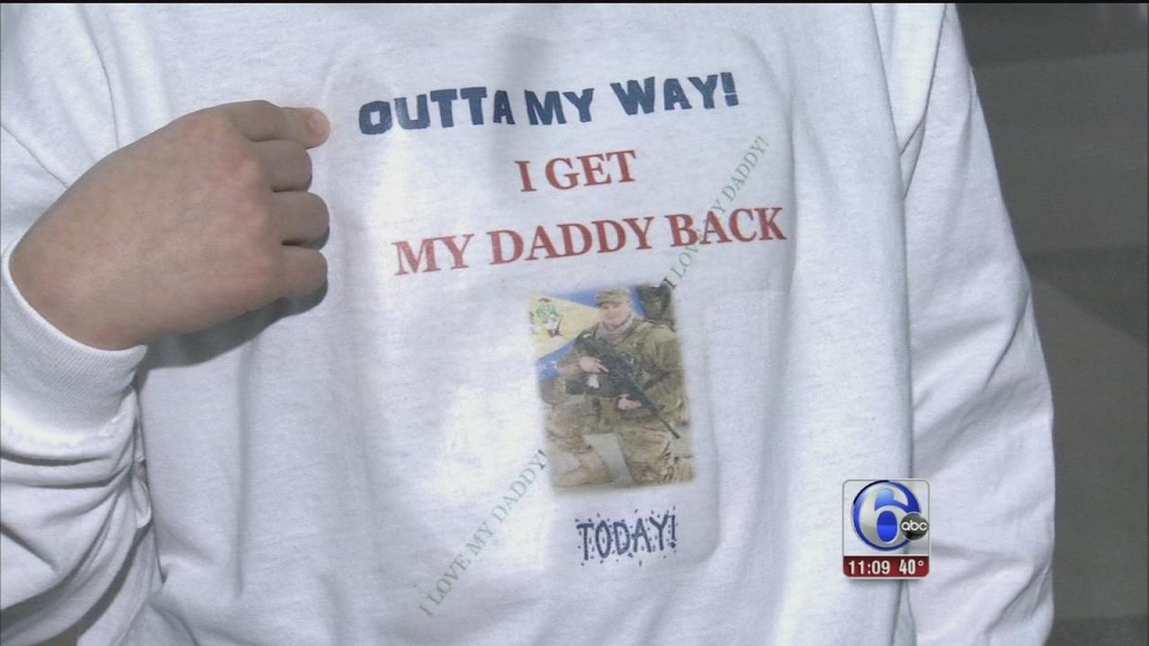 VIDEO: Soldiers welcome home