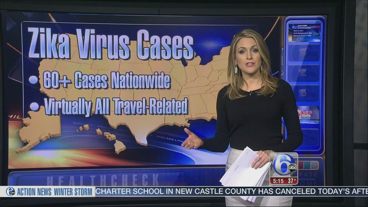 VIDEO: Zika virus cases in our area