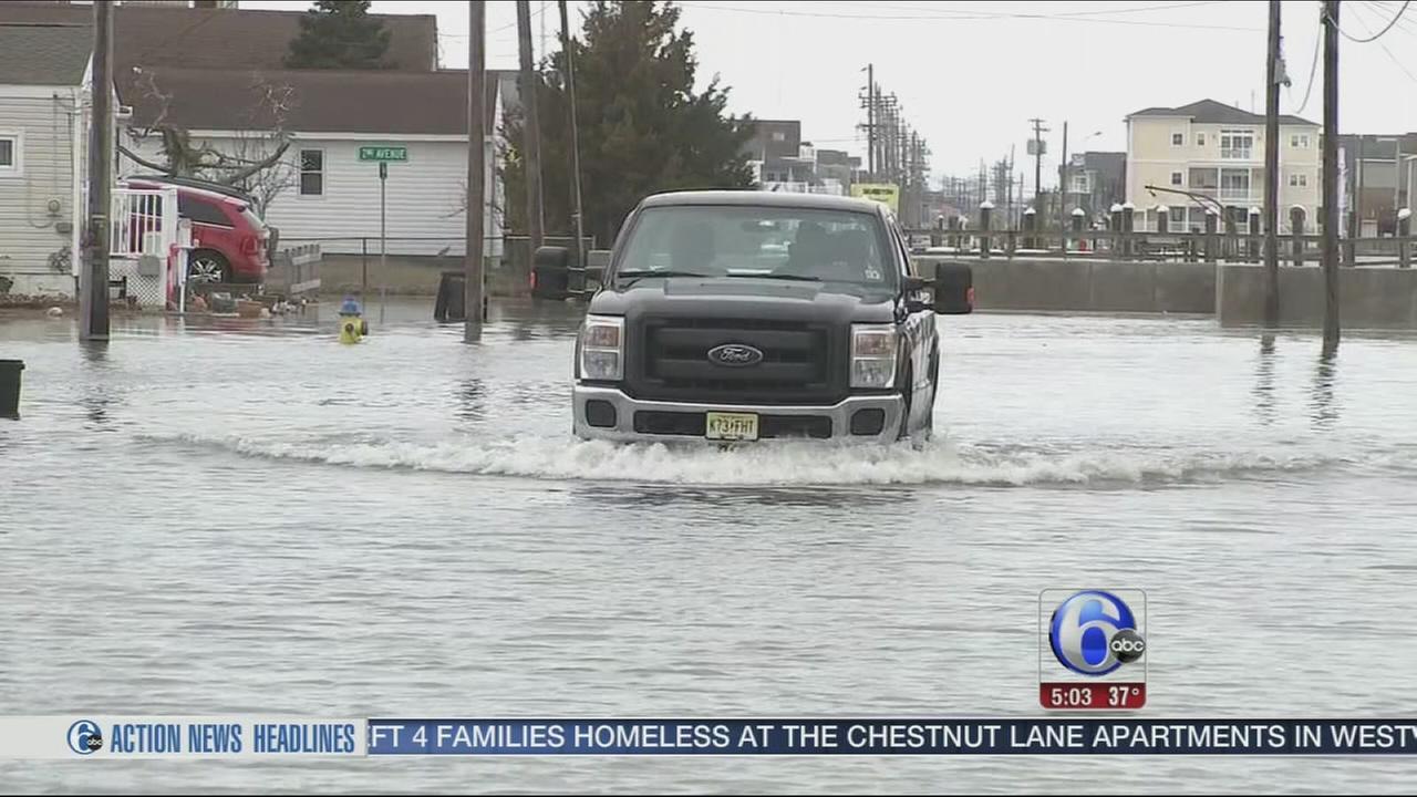 VIDEO: Jersey Shore flooding