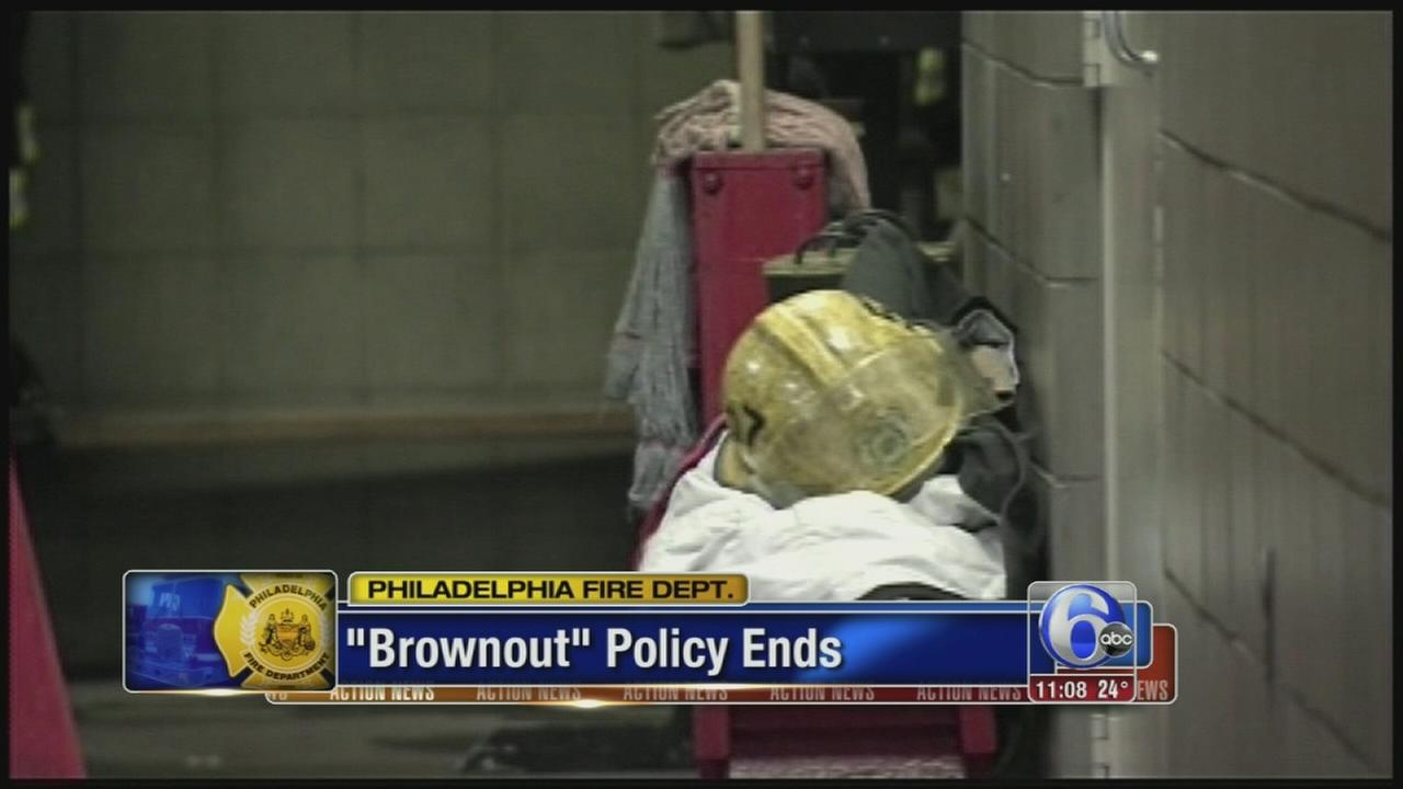 VIDEO: Brownouts policy ends
