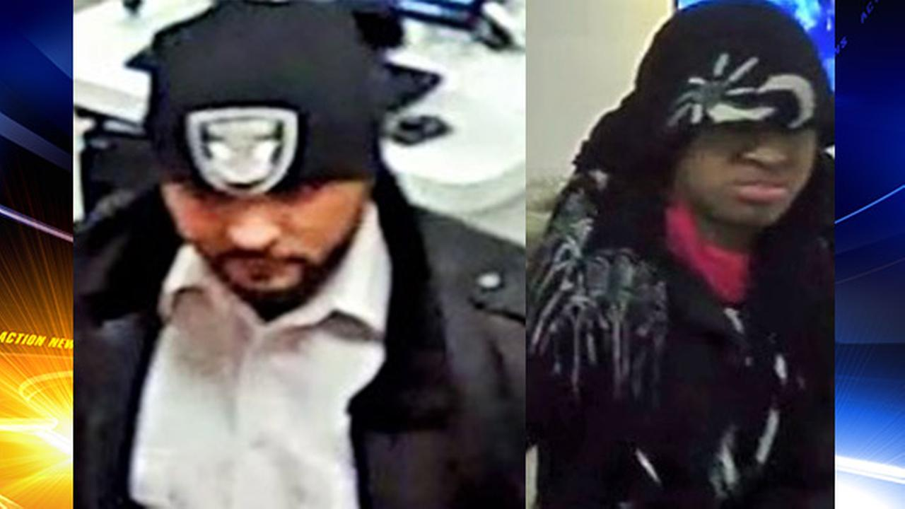 Reward offered for suspects wanted in armed robbery in Bucks County