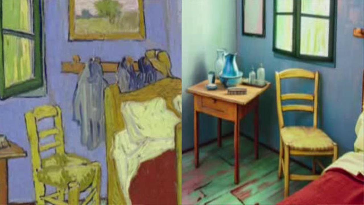 VIDEO: Would you like to imagine sleeping in a Van Gogh painting?