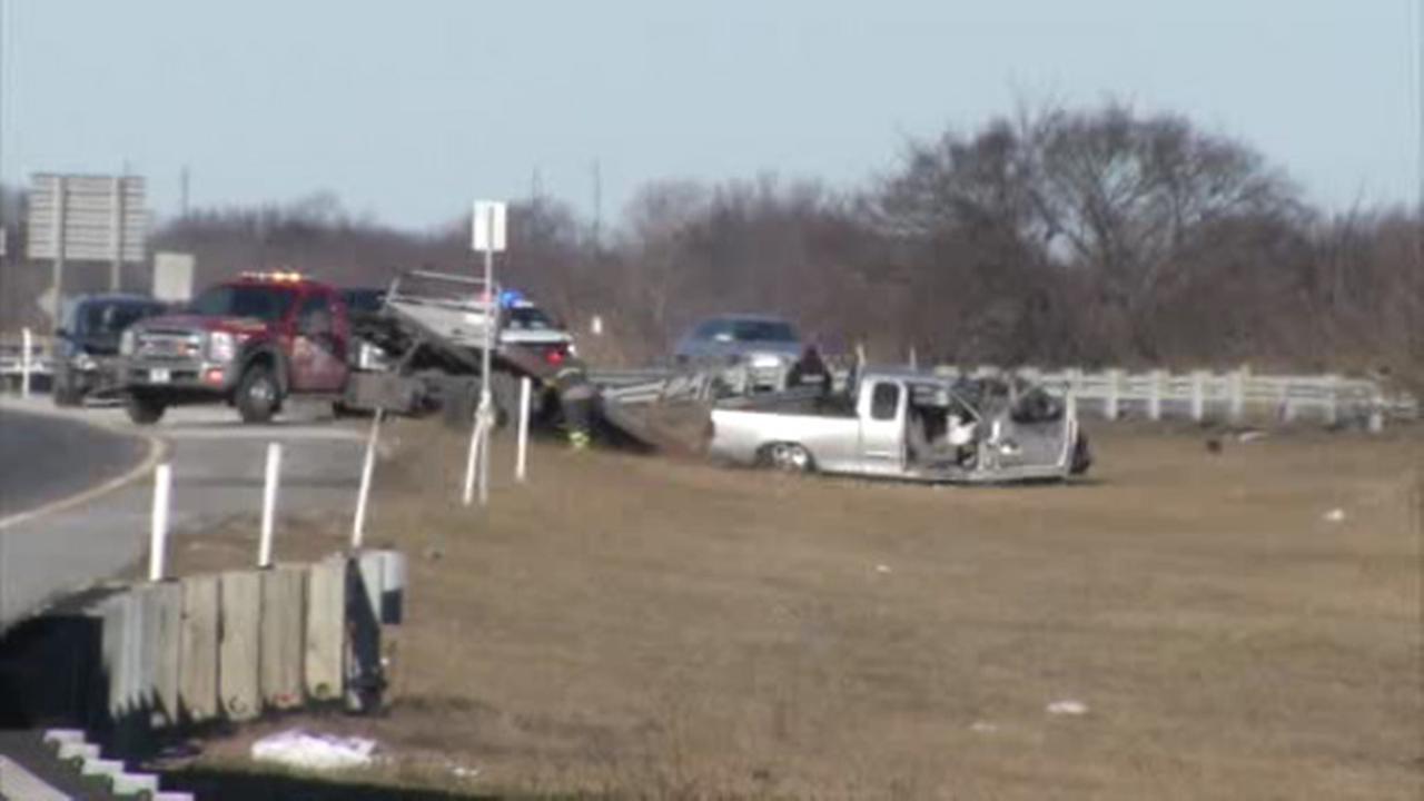 1 injured in I-95 crash in Delaware County