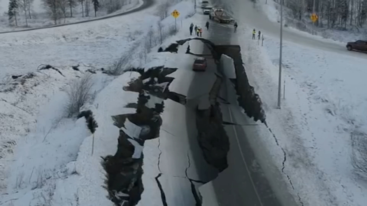 230 small earthquakes in Alaska since Friday.Walter Perez reports during Action News at 7:30 p.m. on December 1, 2018.