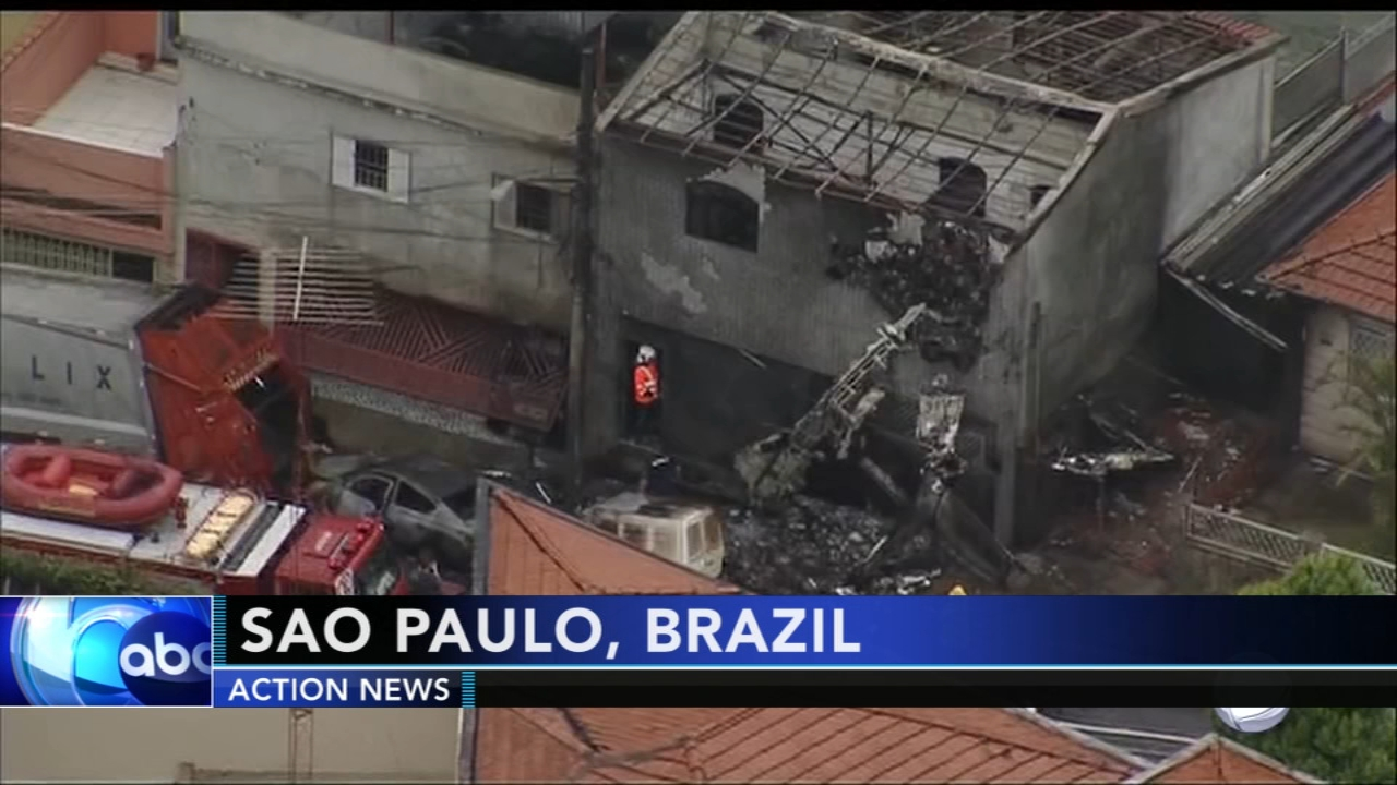 2 dead, 11 injured after plane crashes in Brazil. Gray Hall reports during Action News at 9 a.m. on December 1, 2018.