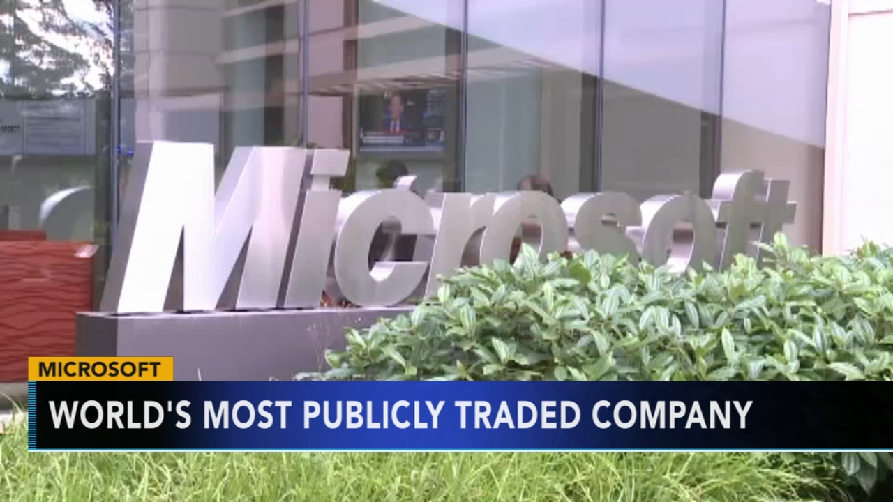 Microsoft surpasses Apple as most valuable public company. Gray Hall reports during Action News at 9 a.m. on December 1, 2018.