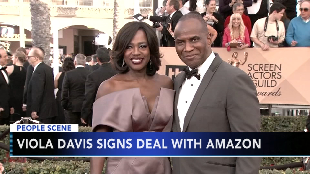 Viola Davis signs film deal with Amazon. Gray Hall reports during Action News at 6 a.m. on December 1, 2018.
