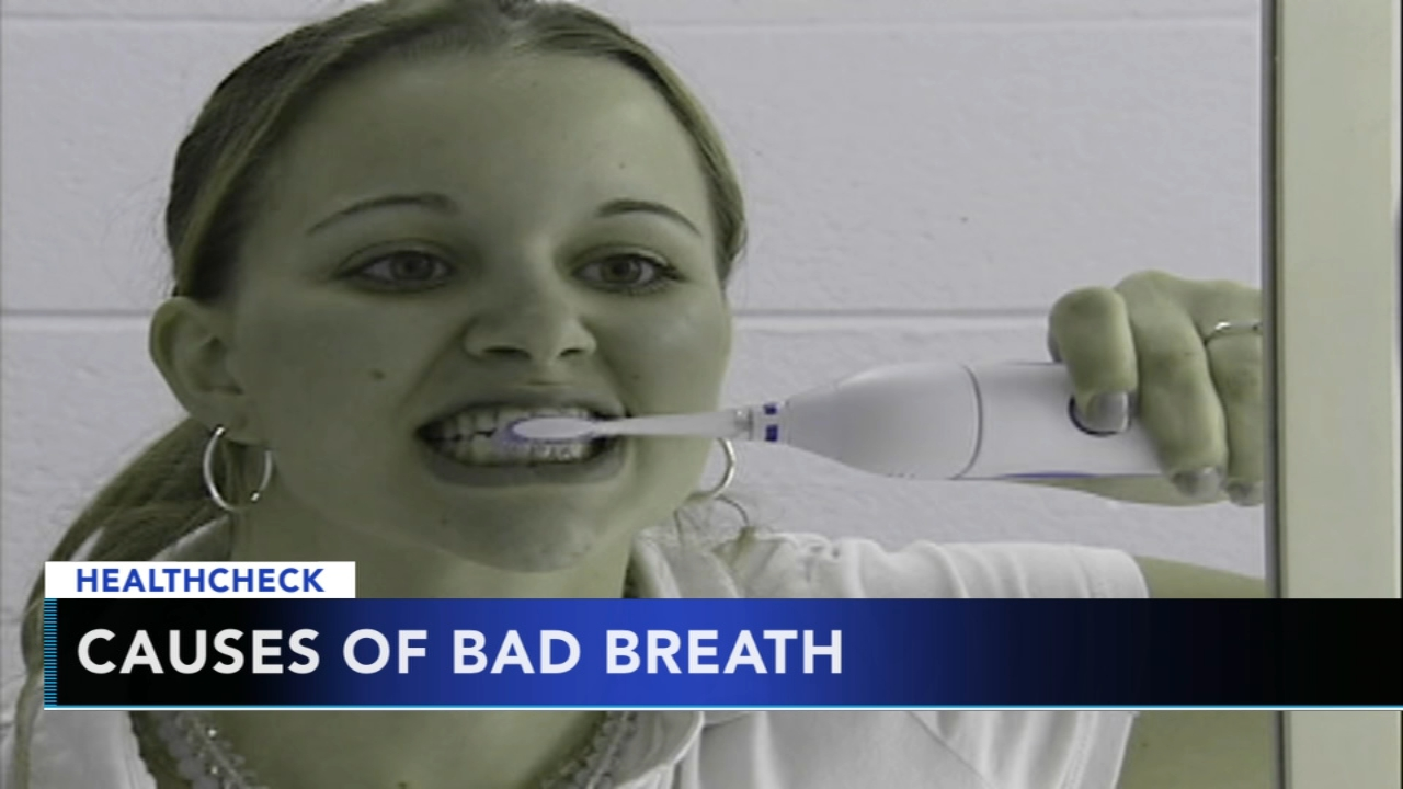 Academy of General Dentistry says 80 million people have halitosis. Gray Hall reports during Action News at 7 a.m. on December 2, 2018.