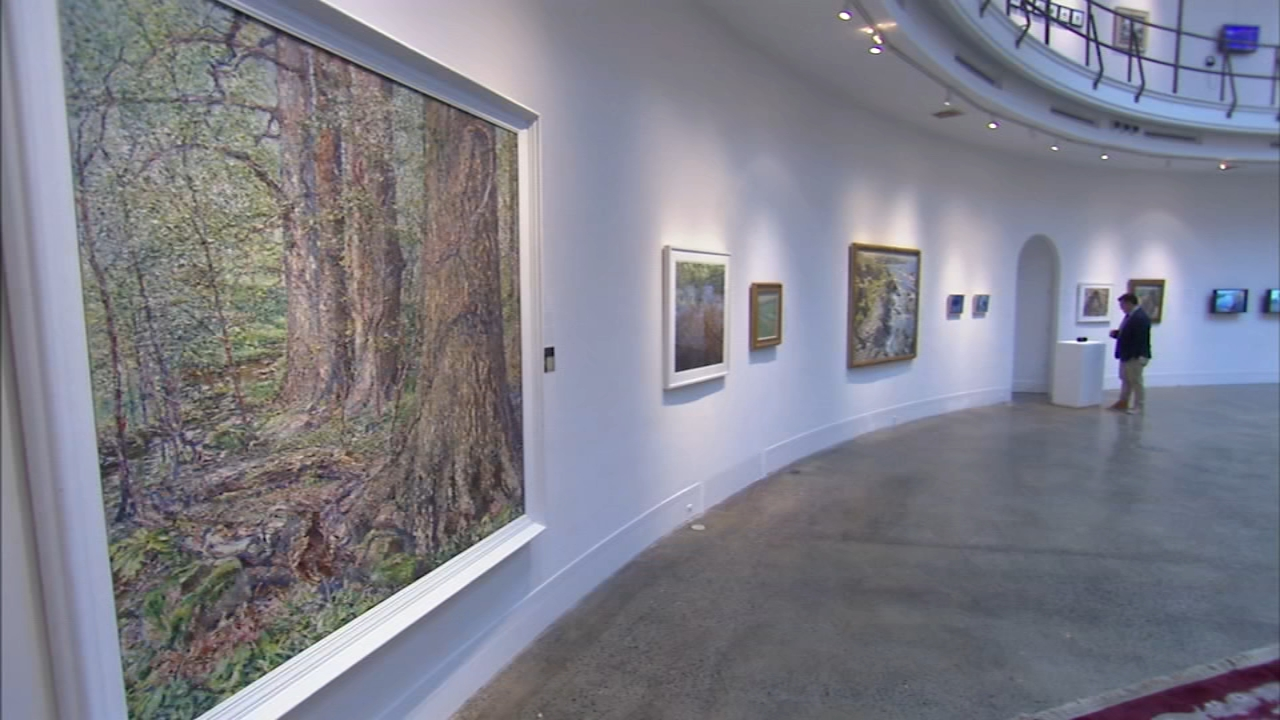 Past meets present in Woodmere Art Museums Landscape exhibit. Karen Rogers reports during Action News at 7 a.m. on December 2, 2018.