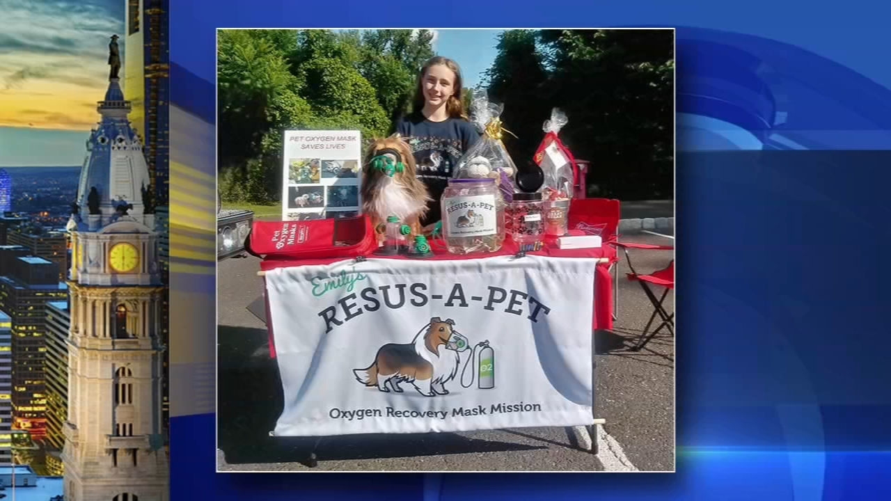 Bucks County pre-teen helping firefighters save pets with special project. Matt ODonnell reports during Action News at 6 a.m. on December 2, 2018.