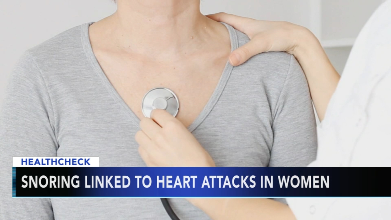 Snoring in women could mean greater risk of heart attack or stroke. Nydia Han reports during Action News at 9 a.m. on December 2, 2018.