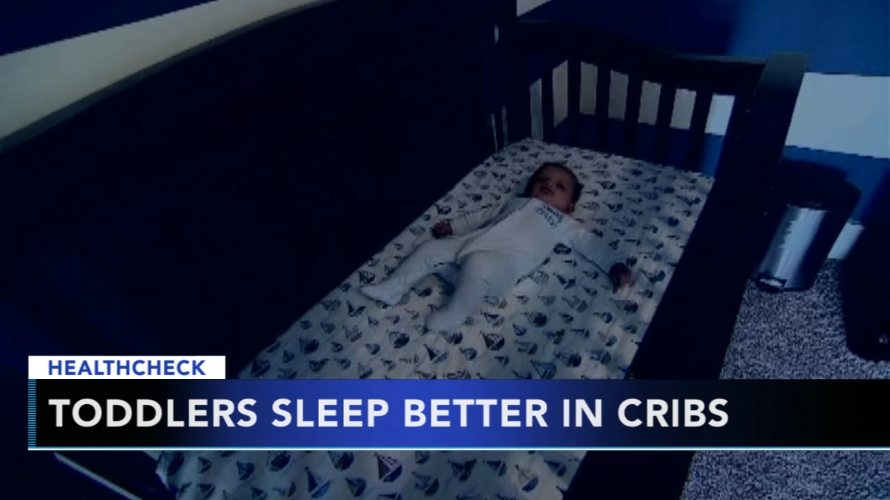 Study says delaying transition from crib to bed could lead to better sleep. Gray Hall reports during Action News at 9 a.m. on December 2, 2018.