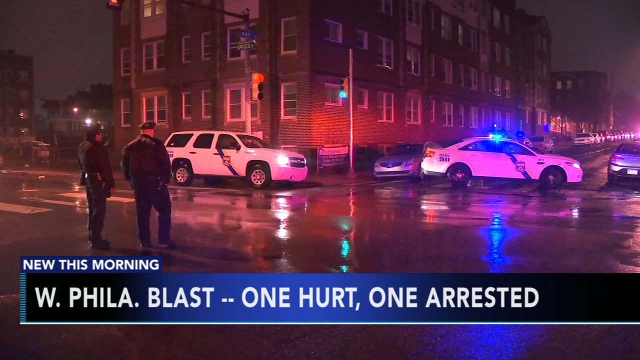 Man arrested for allegedly causing explosion in West Philadelphia apartment. Nydia Han reports during Action News at 6 a.m. on December 2, 2018.