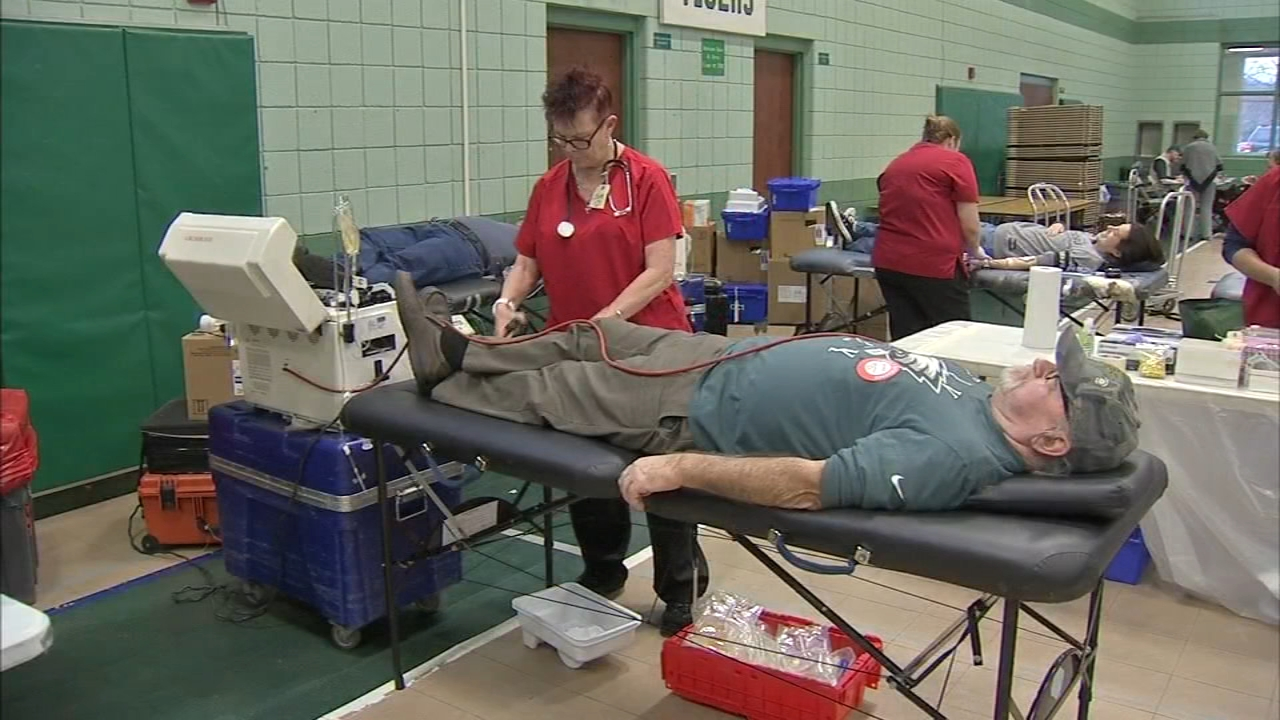 Jimmy Herin donated his 300th pint of blood, after 50 years of giving as reported during Action news at 4 on December 3, 2018.