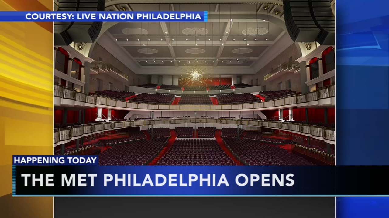The Met Philadelphia opens Monday. Matt ODonnell reports during Action News Mornings on December 3, 2018.