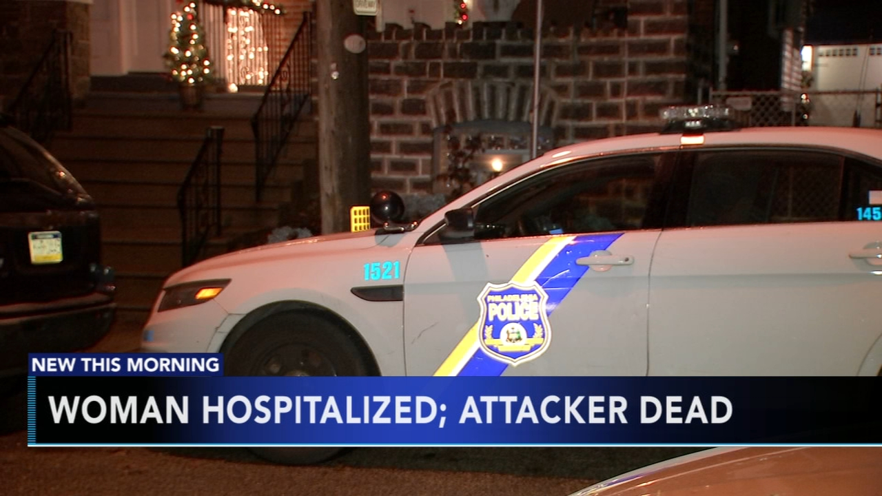 Woman stabbed, attacker dead in Wissinoming. Matt ODonnell reports during Action News Mornings on December 3, 2018.