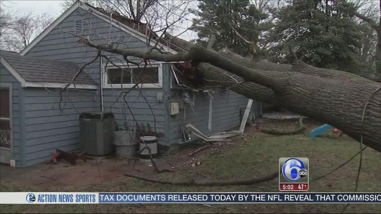 VIDEO: Storm damage in Feasterville