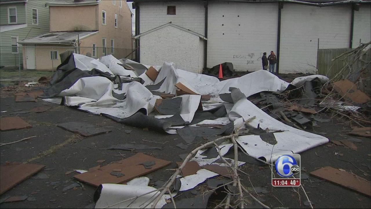 VIDEO: Storm damages Holmesburg Boys Club
