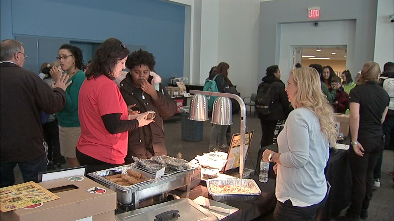 Philadelphia students got to test food items that could potentially be on the school lunch menu as reported during Action News at 6 on December 4, 2018.