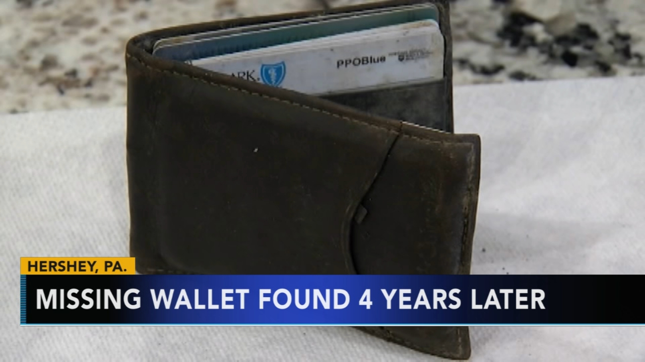 Missing wallet found at Hersheypark 4 years later. Tamala Edwards reports during Action News Mornings on December 4, 2018.