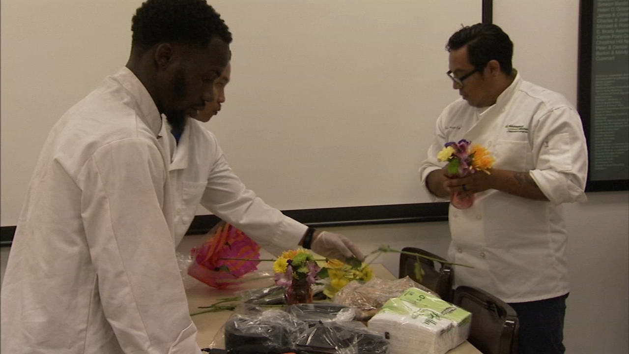 Culinary training program provides opportunities for disadvantaged: Tamala Edwards reports on Action News at 5 p.m., December 4, 2018