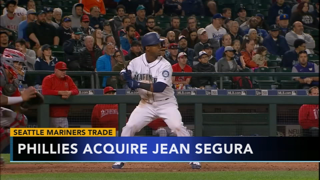 Phillies acquire Jean Segura. Matt ODonnell reports during Action News Mornings on December 4, 2018.