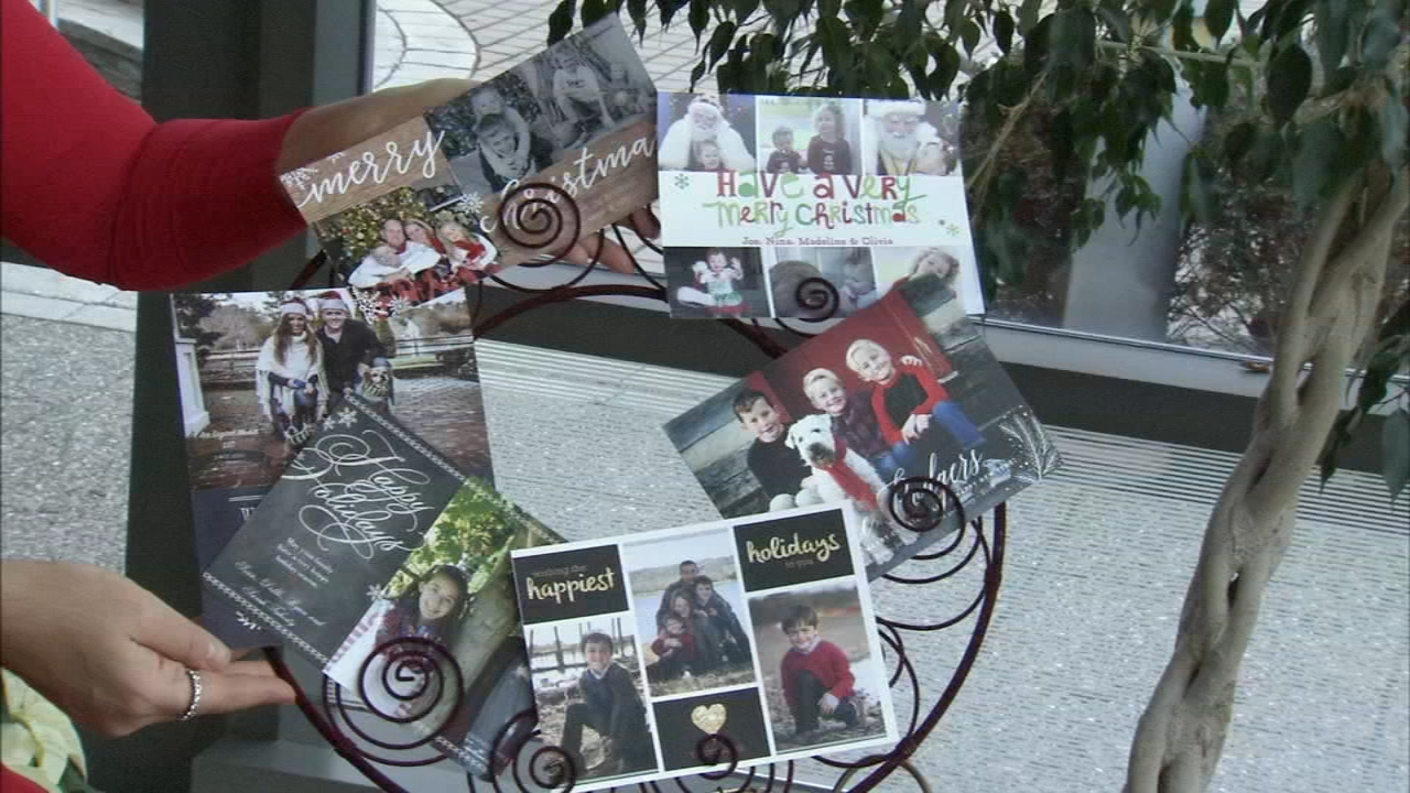 Some creative ways to display holiday cards: Alicia Vitarelli reports on Action News at 4 p.m., December 4, 2018