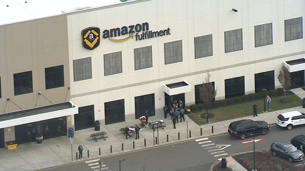 Amazon workers treated after bear repellent releases fumes. Gray Hall reports during Action News at 4:30 p.m. on December 5, 2018.