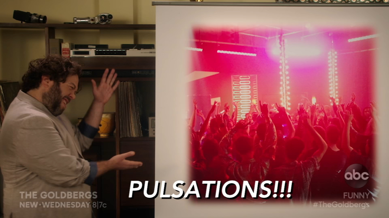 Pulsations was THE spot in the Delaware Valley in the 80s, and tonight The Goldbergs recreate the legendary nightclub for Barrys bachelor party.
