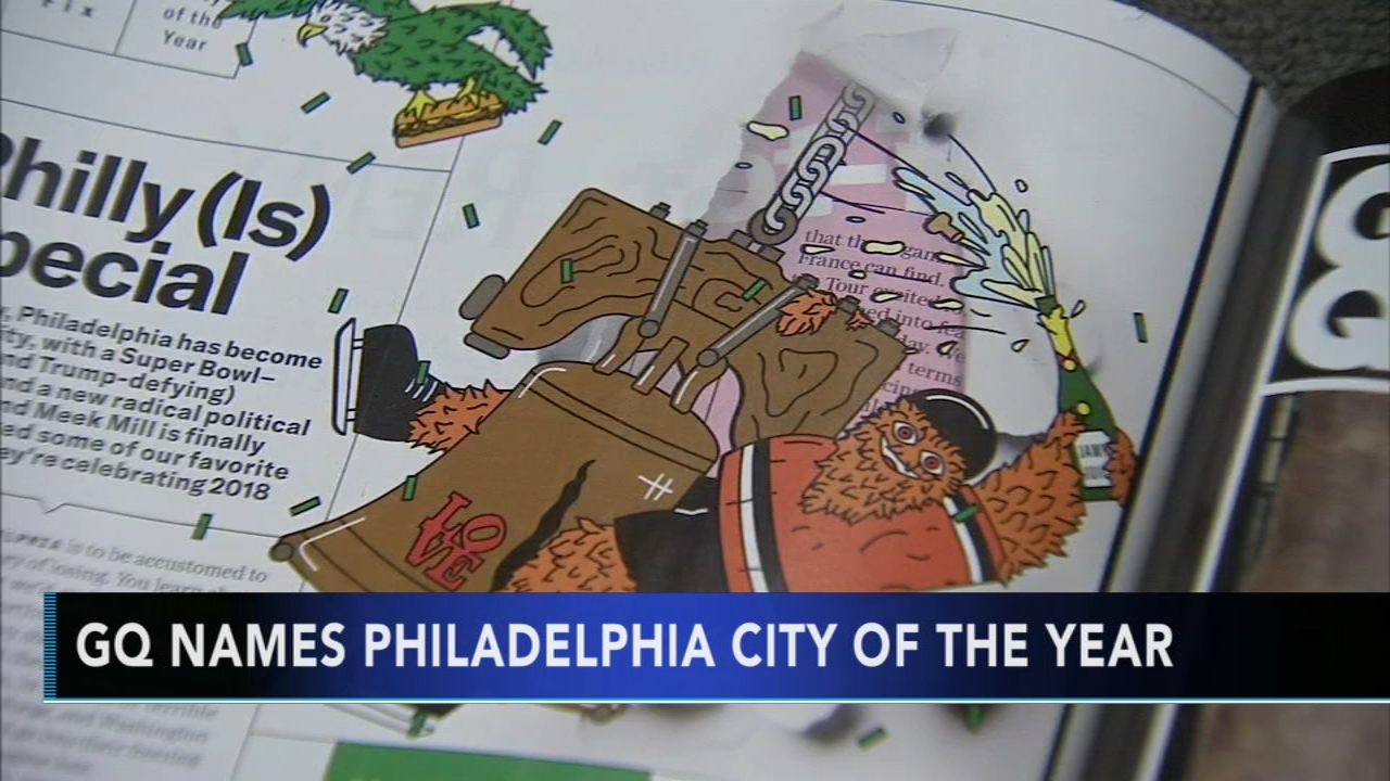 GQ names Philadelphia City of the Year. Katherine Scott reports during Action News Mornings on December 5, 2018.