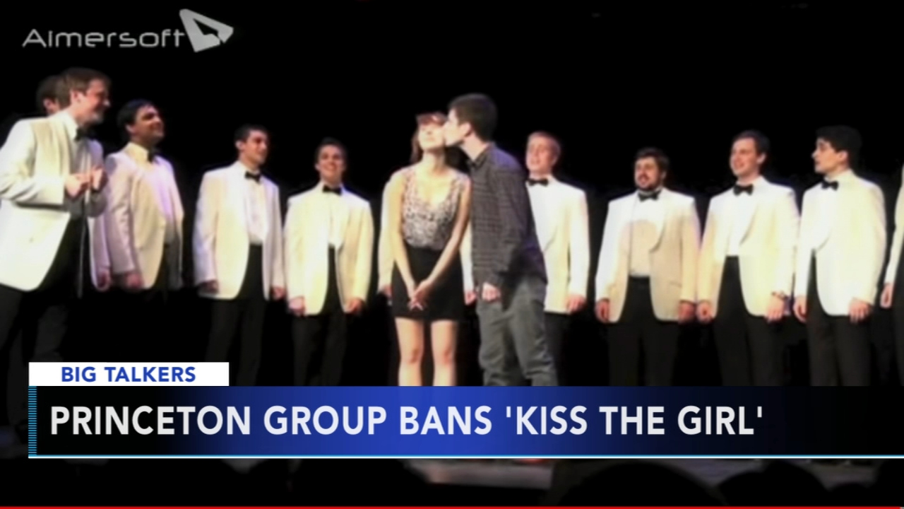A Princeton University acapella groups tradition is now banned.